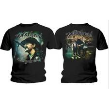MOTORHEAD Clean Your Clock + Back Print T-Shirt - LICENSED OFFICIAL MERCHANDISE