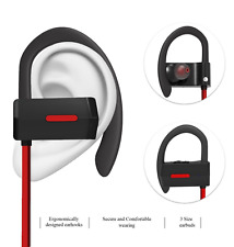 Wireless Bluetooth Headphones Sweat Proof In-Ear Sports Stereo Isolating Headset