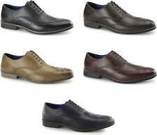 Red Tape KILDARE Mens Leather Formal Office Wingtip Lace Up Oxford Brogues Shoes