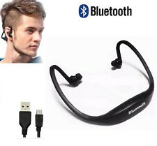 Bluetooth Sport Cuffie con microfono Cuffia ultra facile Smartphone PC Tablet