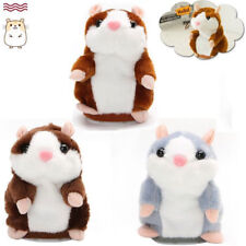 SingingTalking Hamster Nod Mouse Record Chat Mimicry Pet Plush Toy Xmas Gift Y
