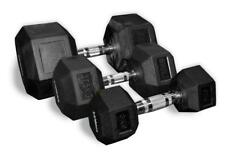 CoreX RUBBER HEX DUMBBELLS (PAIR) 1KG - 17.5kg