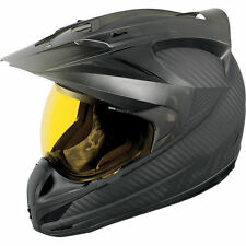ICON VARIANT GHOST CARBON MOTO ENDURO CASCO AVENTURA