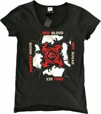 Red Hot Chilli Peppers Amplified Ladies Official Tee Shirt Brand New Various Siz