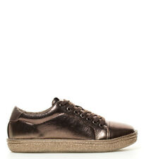 Lois - Zapatillas Bow bronce Mujer chica