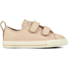 Converse Chuck Taylor All Star 2V Leather Ox Particle Beige In Pelle Bambino