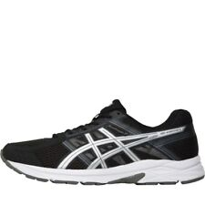 NEW Asics Mens Gel Contend 4 Neutral Running Shoes Black/Silver/Carbon 7 UK