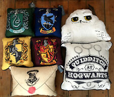 Primark Harry Potter Cushion Pillow Gryffindor Ravenclaw Hufflepuff Slytherin