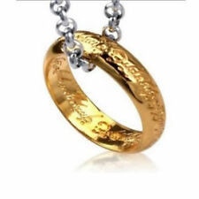 The Lord of Rings, BEIER Gold Plated Stainless Steel Ring, Unisex Birthday Gift