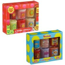 Lovely Chupa Chups/Swizzels Votive Candle Set 6pk,must have for home,Sweet gift