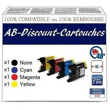 4ME23  Cartouches !!NON OEM !! compatibles avec BROTHER LC1240 / LC1280