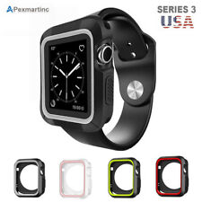 iWatch Rugged Case For Apple Watch Protective Cover Bumper 38mm 42mm Series 3 US