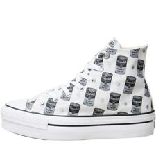 d720df7cf2f RRP £74.99 Converse Womens Andy Warhol All Star Hi top Trainers Size 3 3.5  5.5