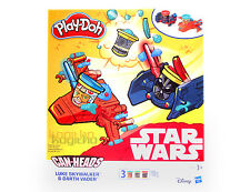 Play-Doh Star Wars Disney can-heads Plastilina Skywalker LUKE DARTH VADER