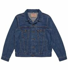BNWT - Brutus Gold Denim Jacket - Blue - Mod Ska Skinhead