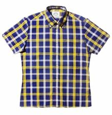BNWT - Brutus Trimfit Big Check - Blue/Yellow - Mod Ska Skinhead