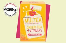 t + multea vitamin tea lemon & peach 15 Sachets