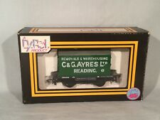 Dapol OO Gauge B91 Conflat And Container C&G Ayers. Excellent.