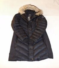 Womens Abercrombie & Fitch Hoodie Quilted Down Water Resistant Coat Jacket XL