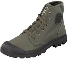 Palladium Stivali Scarpe outdoor PAMPA OXFORD 02352-372-m marrone verde NUOVO