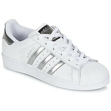 adidas Originals SUPERSTAR Scarpa Donna Sneaker  Bianco / Argento / Nero
