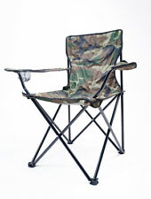 Foldable Camping Chair Folding Fishing Outdoor with Armrest
