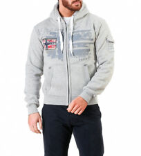 Geographical Norway - Sudadera Fohnson gris Hombre chico