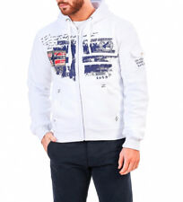 Geographical Norway - Sudadera Fohnson blanco Hombre chico
