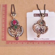 Turkish Style Long Necklace Earrings Sets