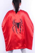 New Children Spiderman Hero Cape Kids Fancy Dress Halloween Outfit costume