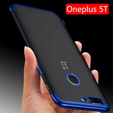 OnePlus 5T Case Luxury Soft Plating TPU Phone Back 1+ Clear ultra thin A5010 New