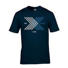 Ripple XRP 5th Birthday T-Shirt Crypto Currency Mining Mens Ladies Free Shipping