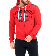 Geographical Norway - Sudadera Foccupe rojo Hombre chico