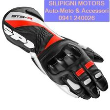 SPIDI STS-R - A146 Nero Rosso 021 GUANTO MOTO IN PELLE SPORT RACING TOURING