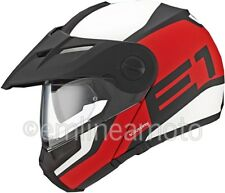 Casco Apribile Off-Road Schuberth E1 Guardian Red