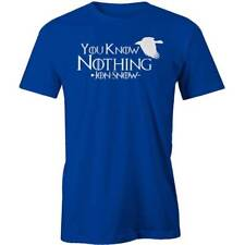 Game Of Thrones You Know Nothing Jon Snow T-shirt