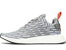 Adidas Originals NMD R2 Primeknit ® ( All Sizes: 6 - 13  ) Solid Grey NEW BY2097