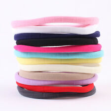 LC_ 10Pcs Baby Girls Head Band Elastic Hair Ties Ponytail Holder Accessories E