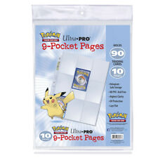 Ultra Pro - Pokemon - 9-Pocket Pages Pack (10 Pages Per Pack)
