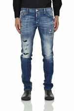 Dsquared2 Cool Guy Jean + Taglie - Blu - Made in Italy