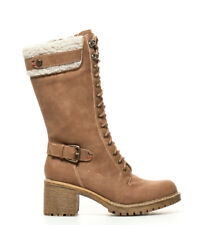 Refresh - Botas Meredith camel -Altura tacón: 7cm- Mujer chica