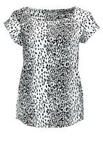 Jacqueline de Yong Damen T-Shirt Toledo SS Top White/Black Shirt Top SALE 70%