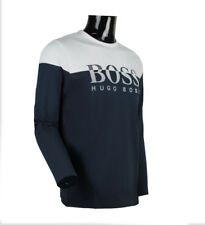 Hugo Boss TOGN 2 Men's Long Sleeve T-Shirt Navy s m l xl 2xl