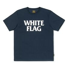 T-shirt Carhartt White Flag Navy / White
