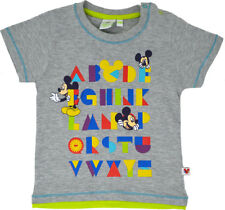 Mickey Mouse T-Shirt Toddlers Disney Clothing Tee Ages 3 Months To 24 Months