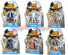 Star Wars Rebels Figura de Acción Hasbro Han Solo Luke Skywalker Inquisitor