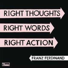 FRANZ FERDINAND - Right Thoughts RIGHT WORDS RIGHT ACTION NUEVO CD