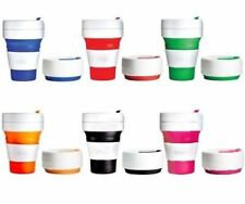 STOJO - The Collapsible, Reusable & Leak-Proof Pocket Cup - Free P&P Worldwide!