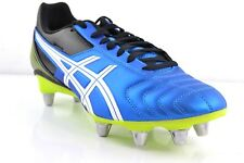ASICS mortel TACKLE bleu/blanc hommes Chaussures de rugby rugby CHAUSSURES SPORT