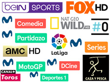 IPTV LATINA 🇪🇸🇸🇦🇨🇴 arabic Channels + ESPAÑA 3 calidades + 1000 latinos